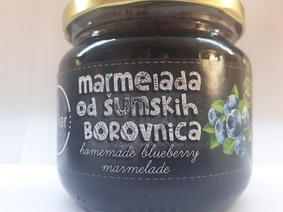 Forest blueberry marmalade