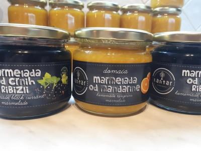 Organic Fruits Marmalades
