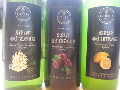Organic Fruits and Mountain Herbs Cordials